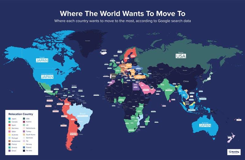 日本が「移住したい国1位」 に 豪州、カナダなどで:海外から「定住 ...