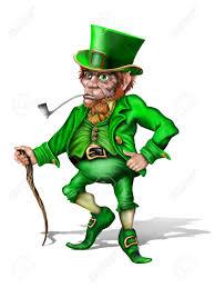 保持、砲手、アイルランドのレプラコーンのイラスト の写真素材・画像 ...