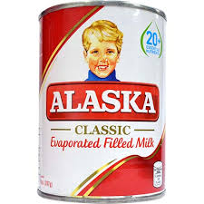 Alaska Evaporated Filled Milk 370ml - Akabane Bussan