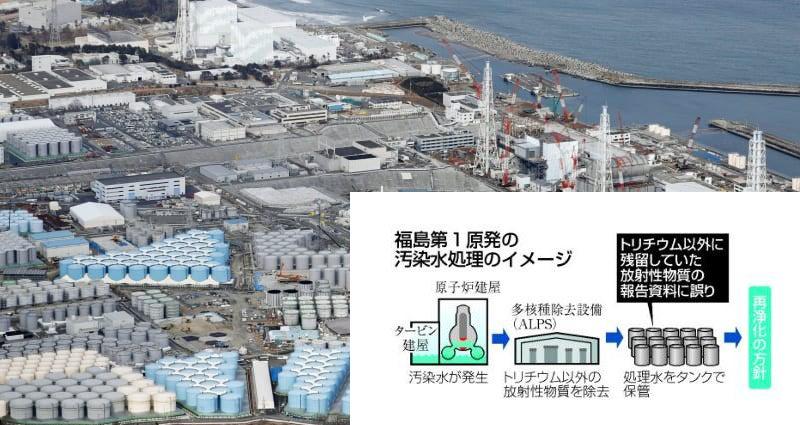福島原発汚染水の海洋放出「反対」 全漁連 「もはや風評被害ではない ...
