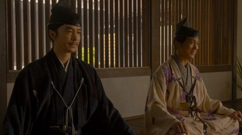 麒麟がくる」なぜ明智十兵衛と木下藤吉郎が並んで筒井順慶に逢いにきた ...