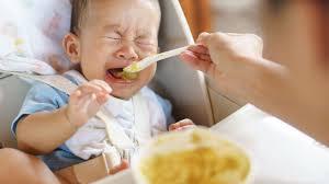 離乳食を食べない赤ちゃんへの対応。飲み込まない、口を開けないなど ...