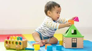生後9カ月の赤ちゃんが楽しめる遊び。おもちゃを使った遊び方や ...