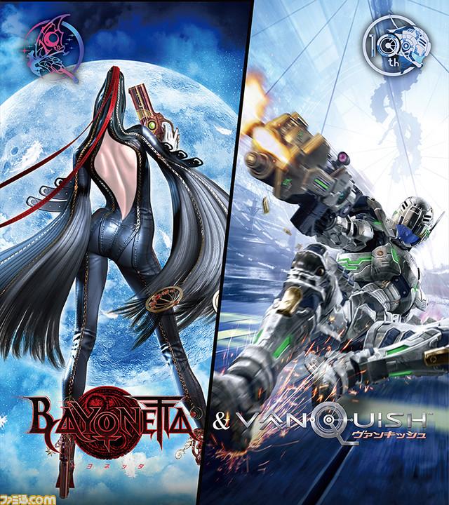 PS4『ベヨネッタ&ヴァンキッシュ』5月28日発売決定! ハイスピードで ...