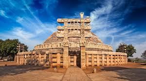 アショーカ王の仏塔!インド最古の仏教遺跡「サーンチーの仏教建築物群 ...
