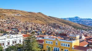 かつて大繁栄した銀鉱山の街、ボリビア山岳地帯の世界遺産の街ポトシ ...