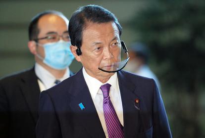 麻生氏「休む必要あると言った」 首相の日帰り検診巡り:朝日新聞デジタル