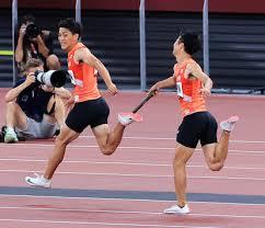 陸上男子400mリレー、日本は途中棄権 2走の山県にバトン渡らず - 東京 ...