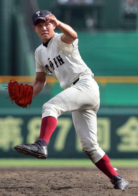 大阪桐蔭・辻内、豪速球の悩み 球速表示は見ないと決意 - 高校野球 ...