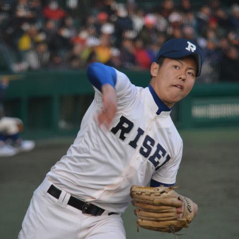 永谷暢章(履正社 3年)   週刊野球太郎 ドラフト候補選手名鑑