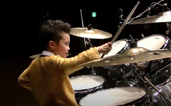 動画】小林優仁くんのドラムの腕前が凄い!子役以外に作曲や音楽の才能 ...