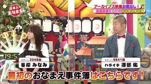 210422 ネーミングバラエティー 日本人のおなまえっ! (AKB48 峯岸 ...