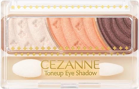 Amazon | セザンヌ トーンアップアイシャドウ 06 オレンジカシス 2.6g ...