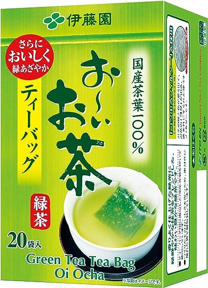 Amazon   伊藤園 おーいお茶 抹茶入り緑茶 ティーバッグ 20袋   日本茶 ...