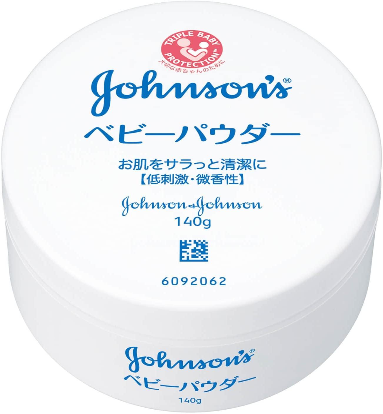 Amazon | ジョンソン&ジョンソン ベビーパウダー プラスチック容器 ...