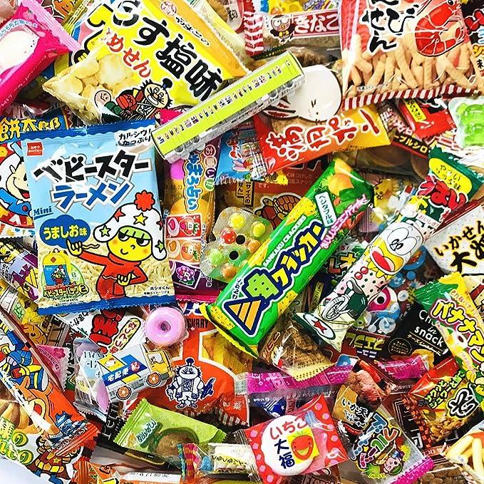 Amazon | 亀のすけ店オリジナル☆いろいろ 駄菓子お菓子 セット (大人 ...