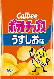 Amazon | カルビー ポテトチップス うすしお味 60g×12袋 | ポテト ...