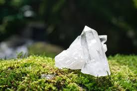 緑の苔と水晶の写真を無料ダウンロード(フリー素材) - ぱくたそ