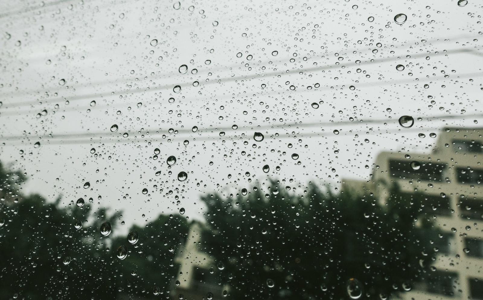 夕方にかけて雨の無料の写真素材(フリー素材)をダウンロード - ぱくたそ