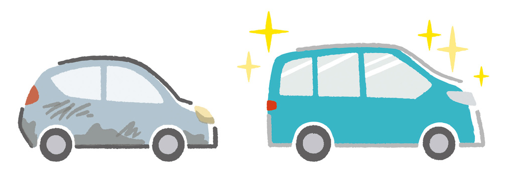 新車|シルエット イラストの無料ダウンロードサイト「シルエットAC」