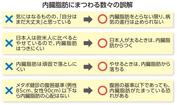内臓脂肪は簡単には落ちない―これは多くの人の誤解だった!:日本人の ...