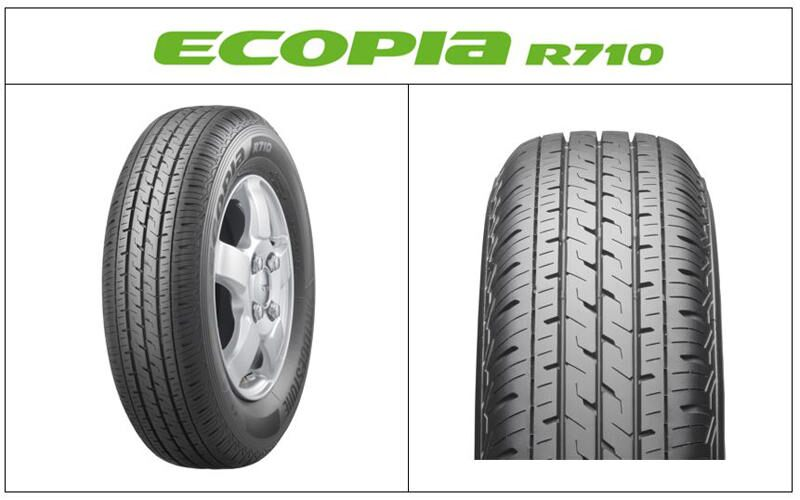 バン・小型トラック専用タイヤ「ECOPIA R710」新発売 「VAN専用エコ ...