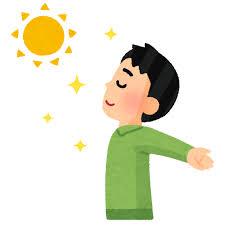 日光浴のイラスト(男性)   かわいいフリー素材集 いらすとや