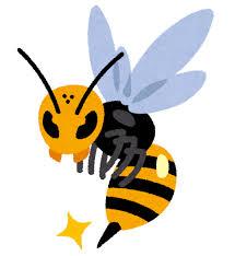 怖い蜂のイラスト   かわいいフリー素材集 いらすとや