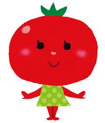 トマトのキャラクター | かわいいフリー素材集 いらすとや
