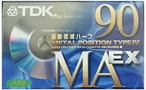 Amazon   TDK メタルテープ カセットテープ 90分 振動低減ハーフ採用 ...