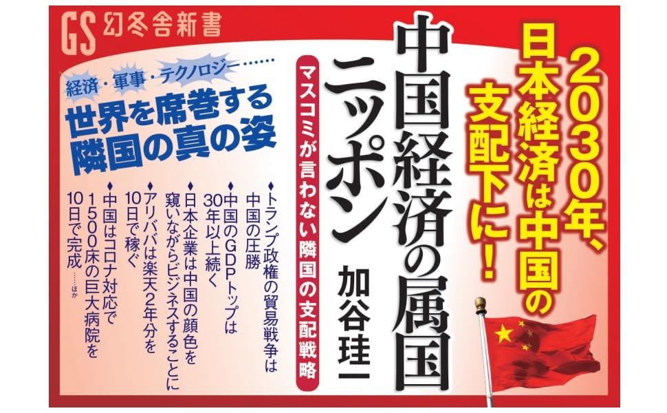 中国経済の属国ニッポン マスコミが言わない隣国の支配戦略 (幻冬舎 ...