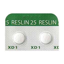 レスリン錠25の基本情報(作用・副作用・飲み合わせ・添付文書 ...