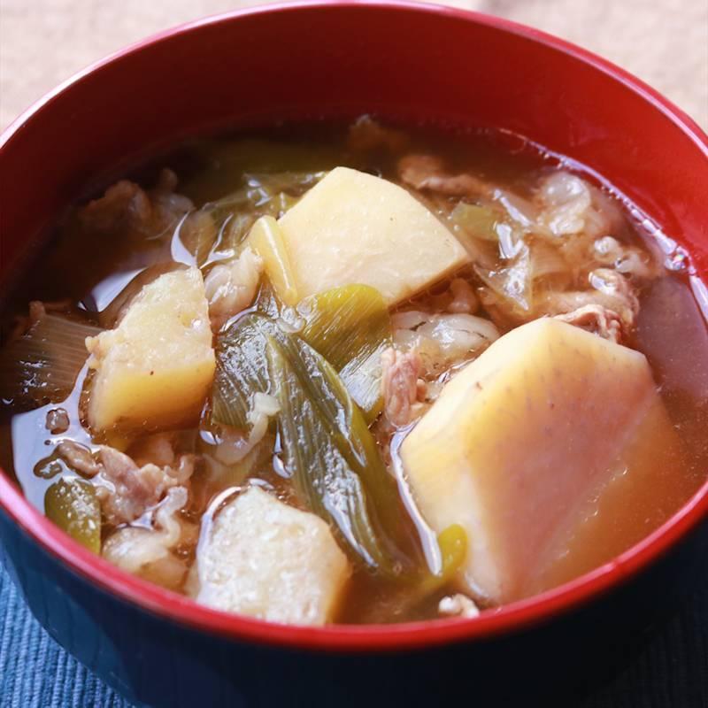 山形の郷土料理 芋煮 作り方・レシピ   クラシル