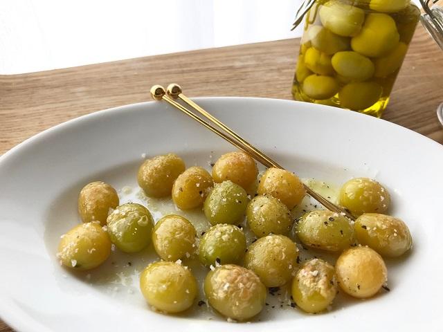 ぎんなんのオリーブオイル漬け】 | Olive Oil Life オリーブオイルライフ