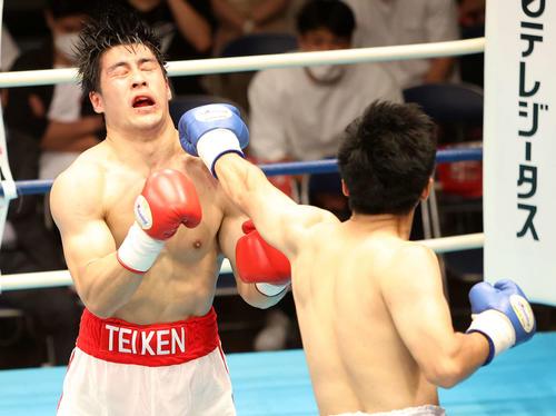 赤井英和「あと20連勝して」デビュー戦1回TKO負け長男英五郎に ...