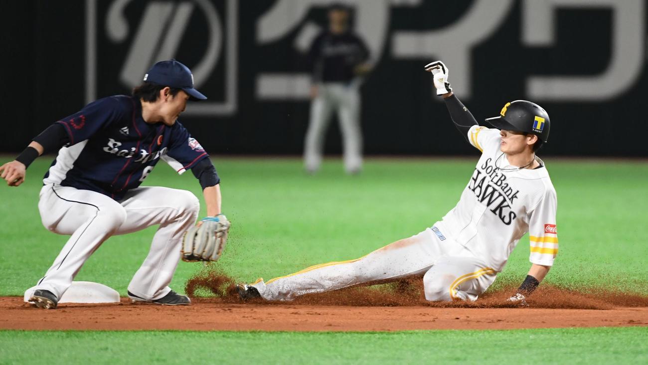 周東に月間盗塁並ばれた広瀬氏「野球はスピード感」 - プロ野球 : 日刊 ...