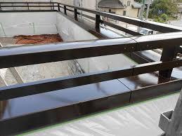 ベランダ手すりのシリコン仕上げ|豊田市の外壁塗装・屋根塗装 ...