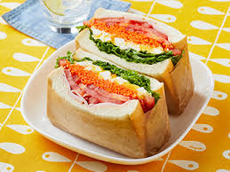 春色ボリューム野菜サンド のレシピ|ヤマザキッチン|山崎製パン