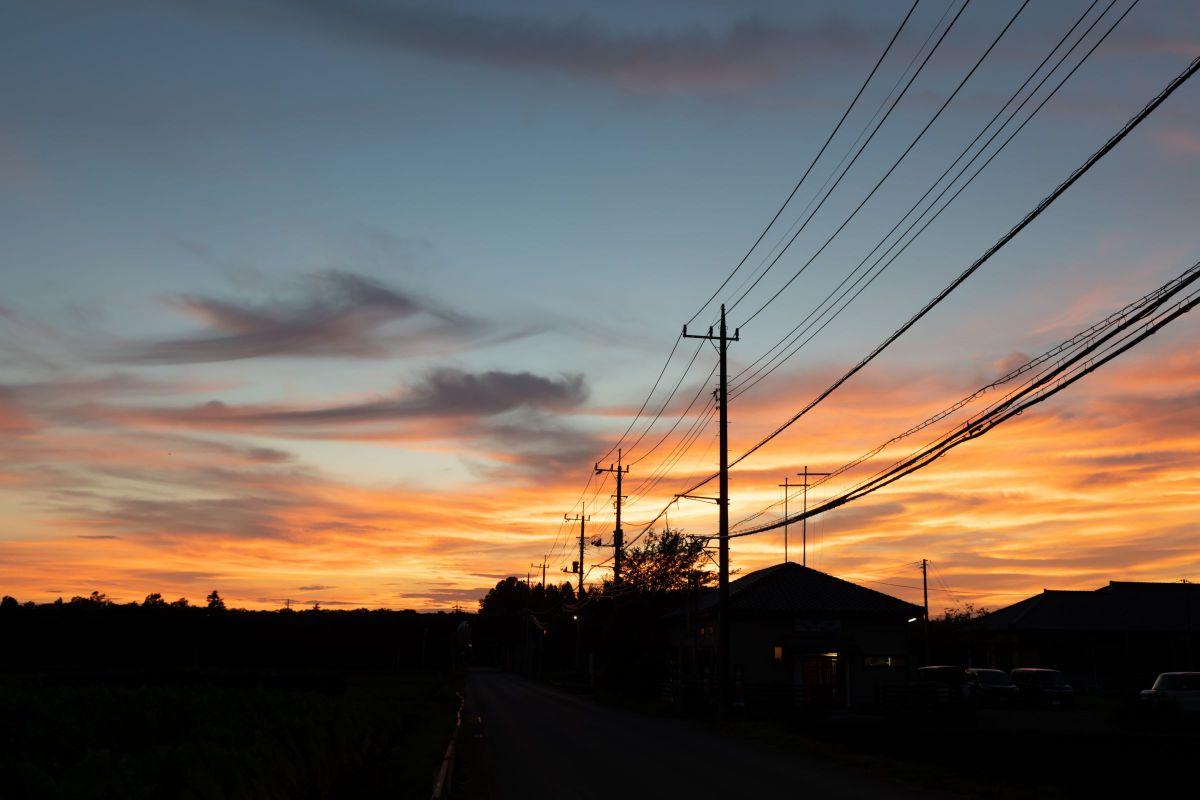 夏生2020 急に秋めくと、こんな夕焼けが懐かしい | 自然・風景 ...
