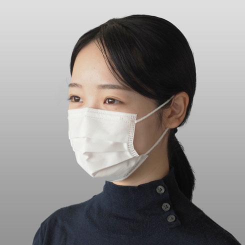 シャープが「小さめマスク」発売 女性や子ども向け 初回5000箱、きょう ...