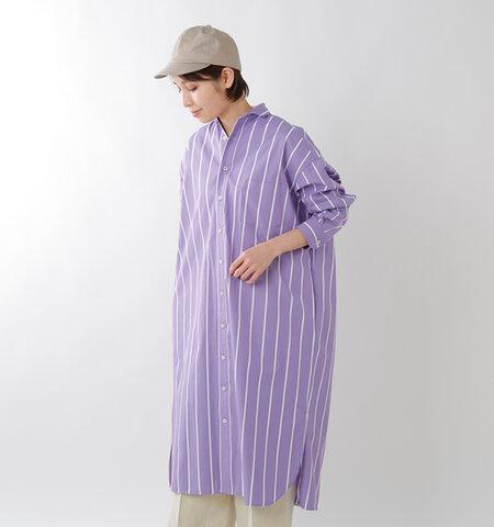 TICCA | 코튼 와이드 스트라이프 스퀘어 빅 롱 셔츠 tais-052 ...