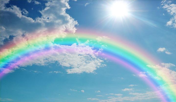 なぜ虹は7色?なぜ雲は白く空は青い?「光」の不思議について解説 ...
