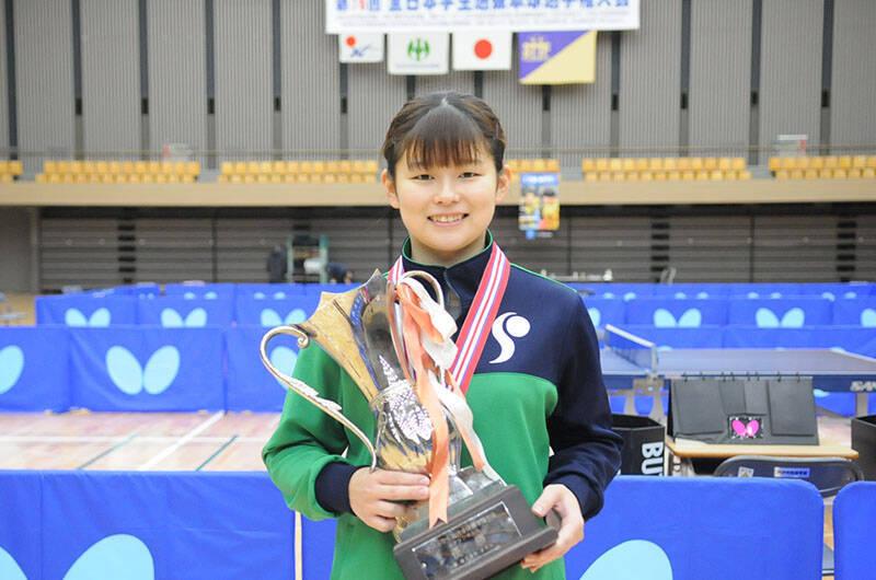 木村香純インタビュー 第16回全日本学生選抜卓球選手権大会|卓球レポート