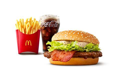 黒胡椒てりやき セット   メニュー情報   McDonald's Japan