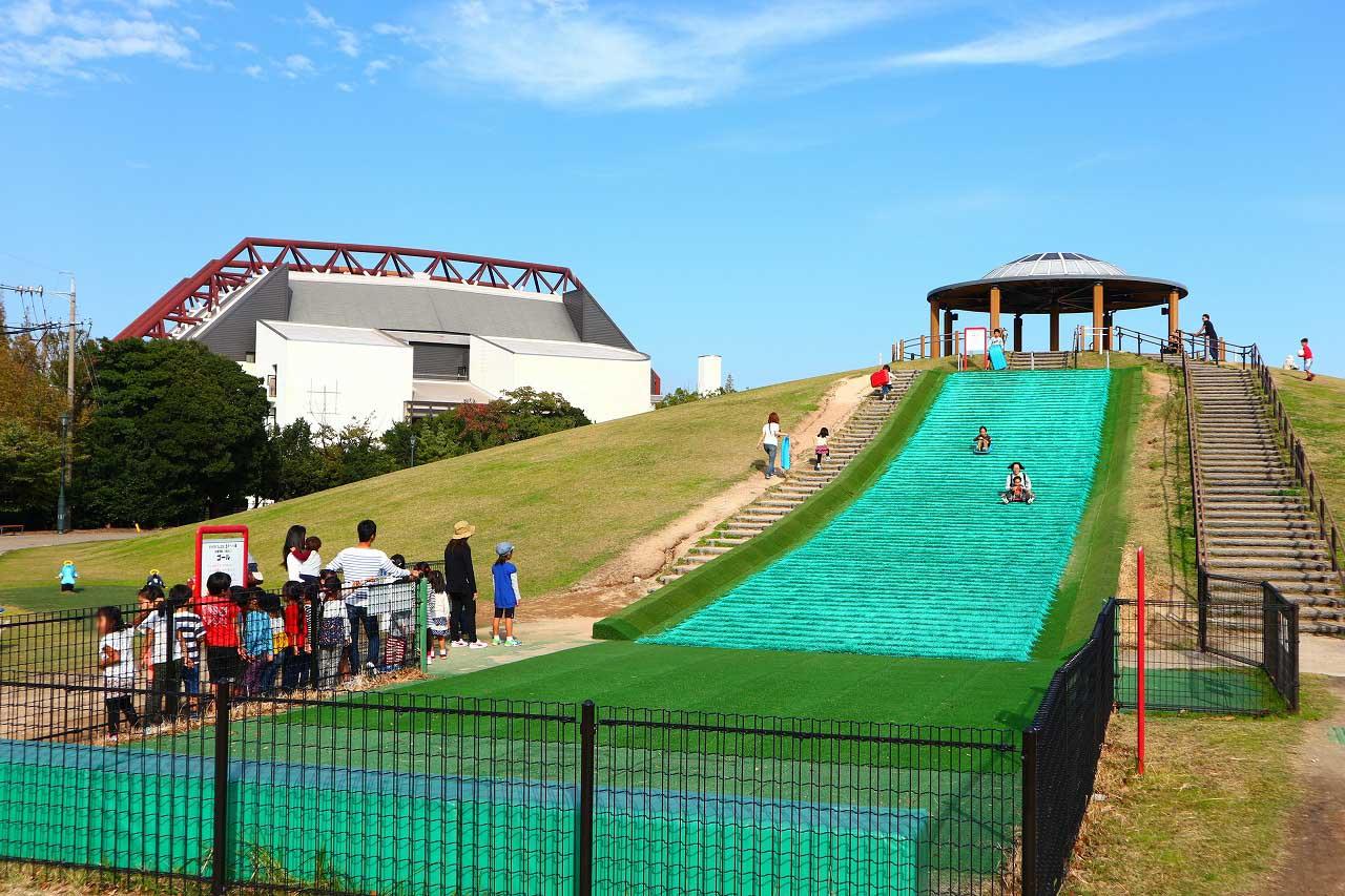 愛知県碧南市の子供の遊び場「碧南市臨海公園」