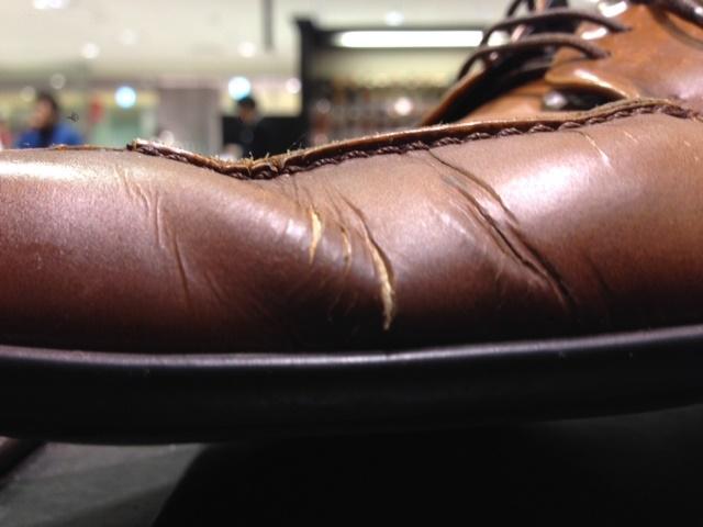 靴は消耗品ではない!! : シューケア靴磨き工房 ルクアイーレ ...