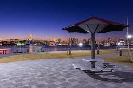 豊洲ぐるり公園の夜景 : タワゴトだいあり♪