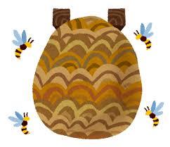 スズメバチの巣のイラスト   かわいいフリー素材集 いらすとや
