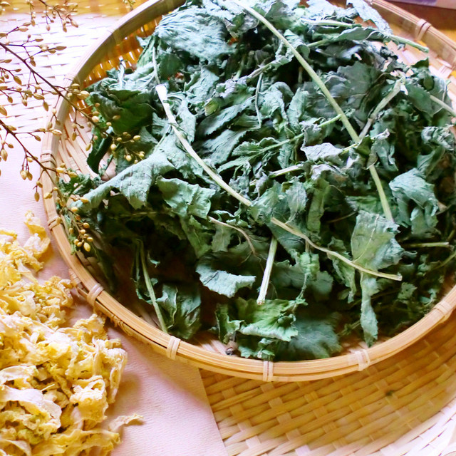 干し野菜☆大根の葉っぱ、干してみました! レシピ・作り方 by あおい ...