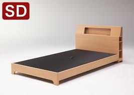 国内在庫即発送 ベッド ベッドフレーム セミダブル 組立設置無料 幅 ...